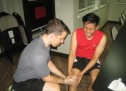 How to treat hamstring injury